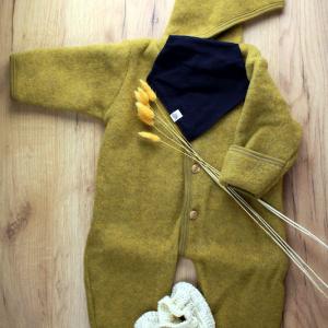 combinaison laine safran