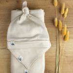 handmade merino beige baby gift set 21