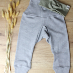 pantalon cosilana gris bandeau fait main 1kx1k
